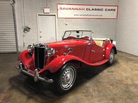 1953 MG TD for sale in Savannah, GA
