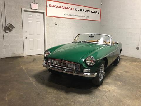 1967 MG B for sale in Savannah, GA