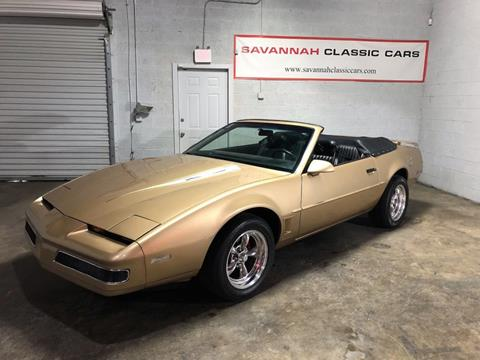 1987 Pontiac Firebird for sale in Savannah, GA