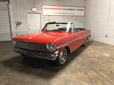 1963 Chevrolet Nova for sale in Savannah, GA