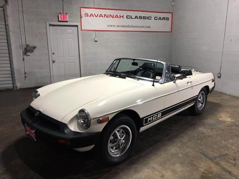 1978 MG B for sale in Savannah, GA