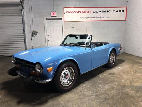 Triumph Cars For Sale >> 1974 Triumph Tr6 For Sale In Savannah Ga