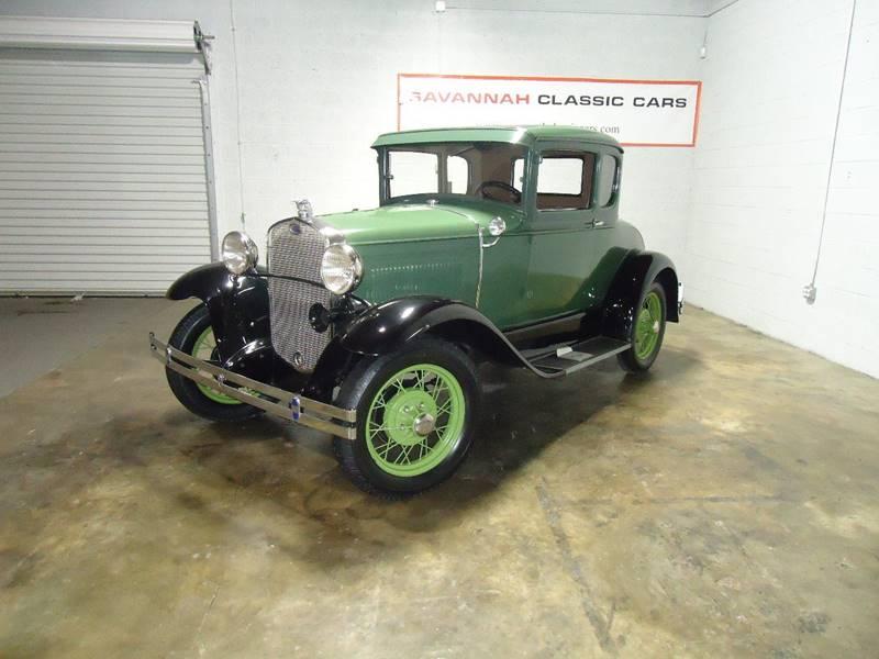 1930 Ford Model A - Savannah, GA SAVANNAH GEORGIA Coupe