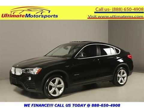 2015 BMW X4 for sale in Houston, TX