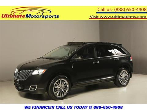 2012 Lincoln MKX for sale in Houston, TX