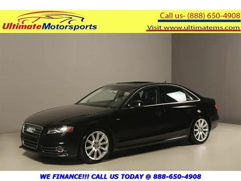 2012 Audi A4 for sale in Houston, TX