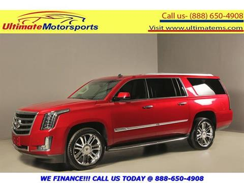 2015 Cadillac Escalade ESV for sale in Houston, TX