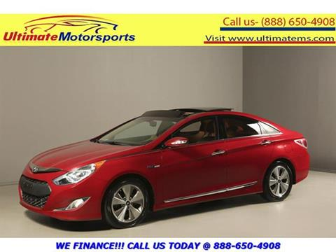 2012 Hyundai Sonata Hybrid for sale in Houston, TX