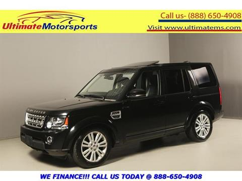 2014 Land Rover LR4 for sale in Houston, TX