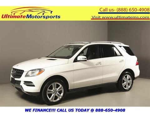 2015 Mercedes-Benz M-Class for sale in Houston, TX