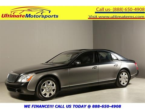 2004 Maybach 57 for sale in Houston, TX