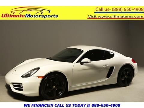 2014 Porsche Cayman for sale in Houston, TX