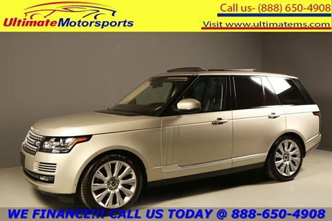 2013 Land Rover Range Rover for sale in Houston, TX