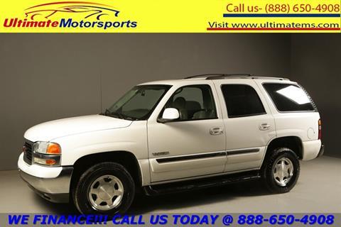 2004 GMC Yukon for sale in Houston, TX