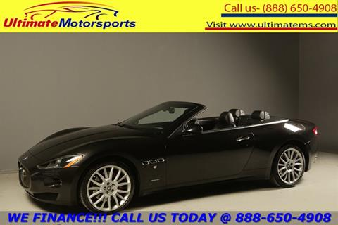 2011 Maserati GranTurismo for sale in Houston, TX