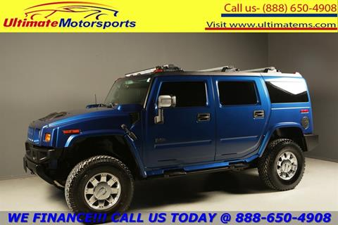 2006 HUMMER H2 for sale in Houston, TX