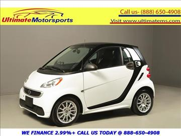 2014 Smart fortwo for sale in Houston, TX