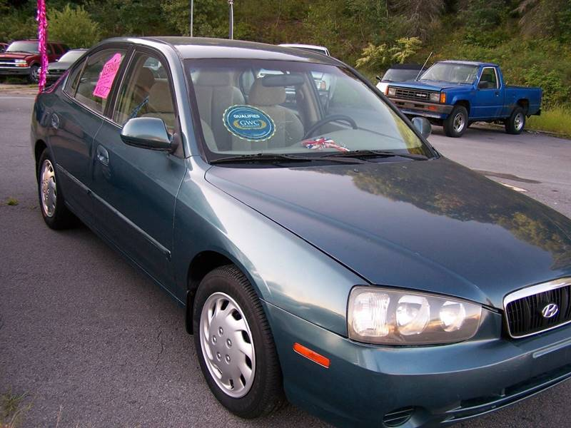 2002 Hyundai Elantra GLS 4dr Sedan   Mayfield PA