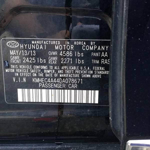 2013 Hyundai Sonata Hybrid 4dr Sedan - New Milford CT