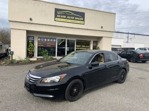 2012 Honda Accord LX for sale at Alves Auto Sales in New Milford CT