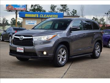 2015 Toyota Highlander for sale in Lumberton, TX