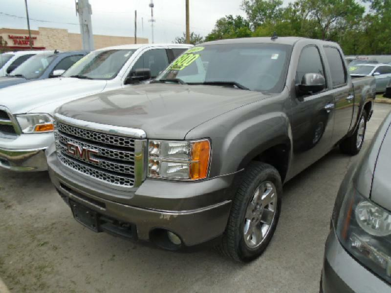 2009 GMC SIERRA 1500 SLE 4X2 4DR CREW CAB 58 FT SB gray air conditioning power windows power