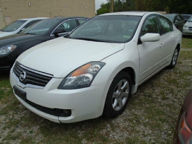 2009 NISSAN ALTIMA 25 S 4DR SEDAN 6M white air conditioning power windows power locks power s
