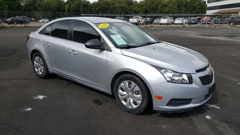 2012 CHEVROLET CRUZE LS 4DR SEDAN silver air conditioning power windows power locks power stee