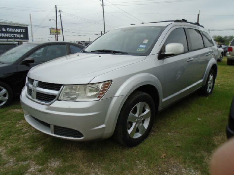 2009 DODGE JOURNEY SXT 4DR SUV silver air conditioning power windows power locks power steerin