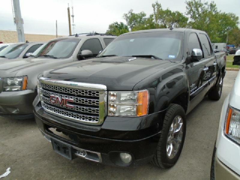 2011 GMC SIERRA 1500 SLE 4X2 4DR CREW CAB 58 FT SB black air conditioning power windows power
