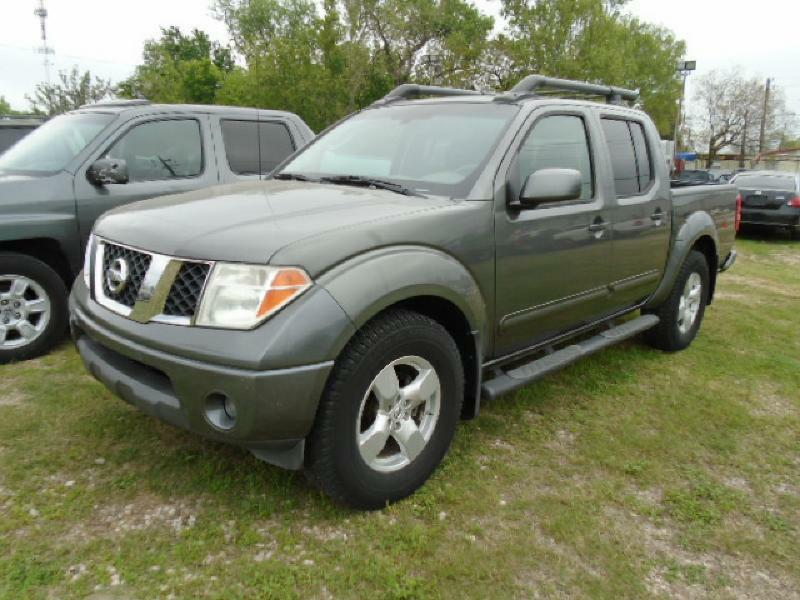 2008 NISSAN FRONTIER CREW CAB LE gray air conditioning power windows power locks power steering