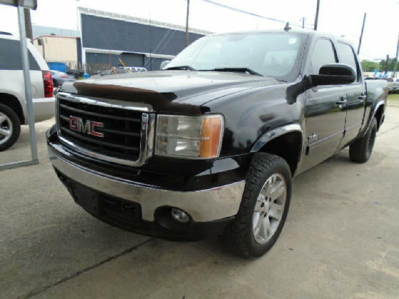 2008 GMC SIERRA 1500 1500 black air conditioning power windows power locks power steering til