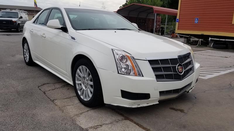 2010 Cadillac Cts 3 0l V6 Luxury 4dr Sedan In Houston Tx Javy Auto