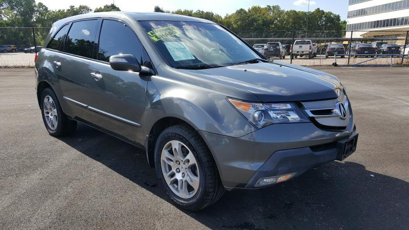2008 ACURA MDX SH-AWD WTECH WRES 4DR SUV WTE gray air conditioning power windows power locks