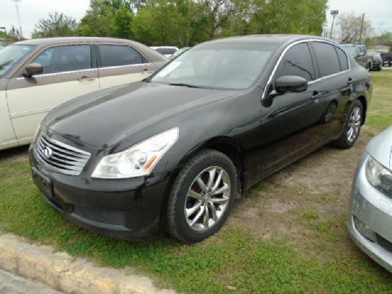 2007 INFINITI G35 X AWD 4DR SEDAN black air conditioning power windows power locks power steer