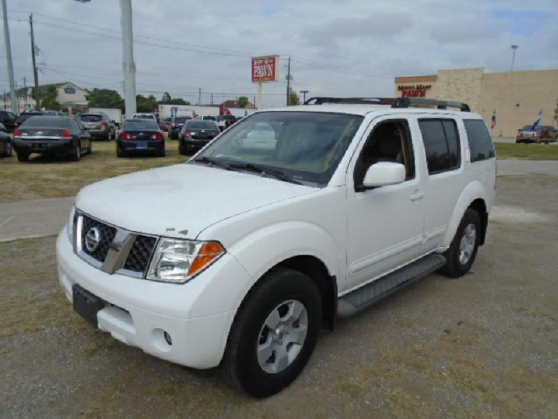 2007 NISSAN PATHFINDER LE 4DR SUV white air conditioning power windows power locks power steeri