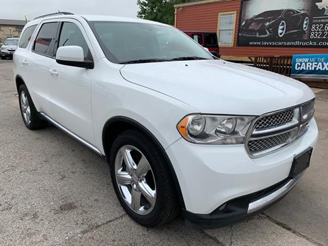 2013 Dodge Durango for sale in Houston, TX
