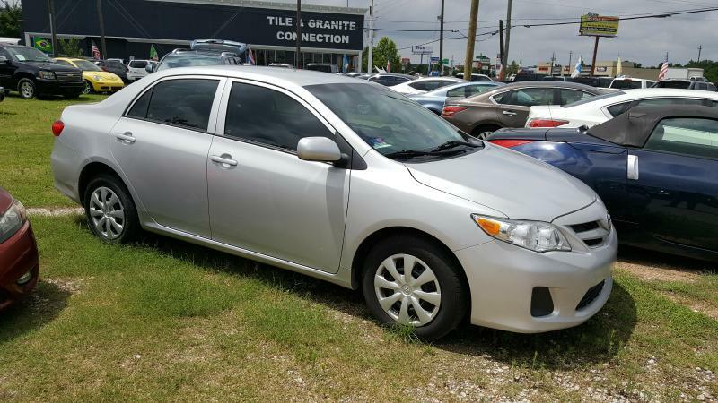 2013 TOYOTA COROLLA BASE silver air conditioning power windows power locks power steering til