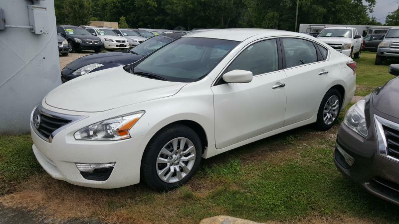 2014 NISSAN ALTIMA 25 4DR SEDAN white air conditioning power windows power locks power steeri