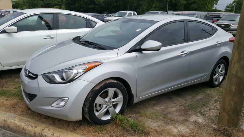 2013 HYUNDAI ELANTRA GLS silver air conditioning power windows power locks power steering til