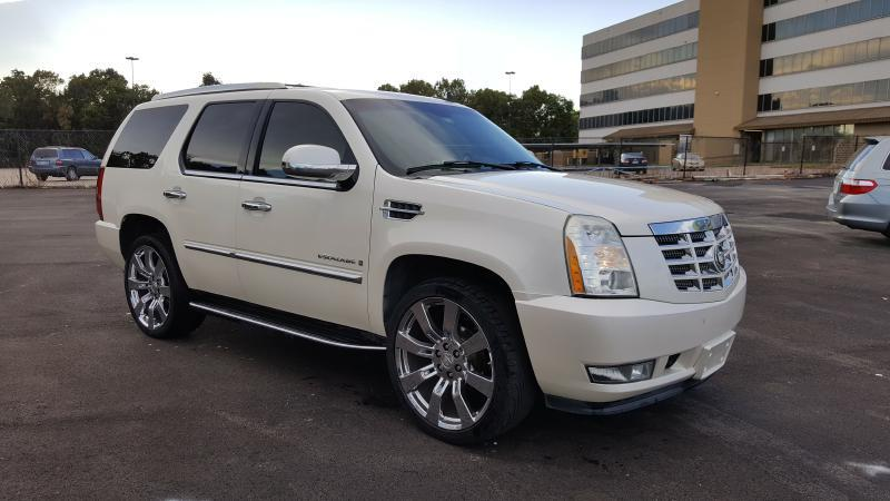 2007 CADILLAC ESCALADE BASE AWD 4DR SUV white air conditioning power windows power locks power