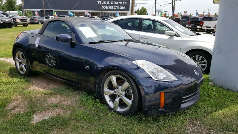 2007 NISSAN 350Z ROADSTER blue air conditioning power windows power locks power steering tilt