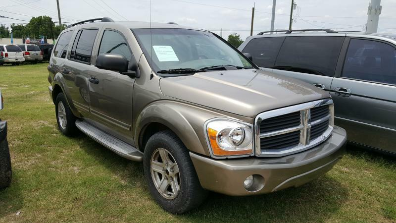 2005 DODGE DURANGO LIMITED 4WD 4DR SUV gold air conditioning power windows power locks power s