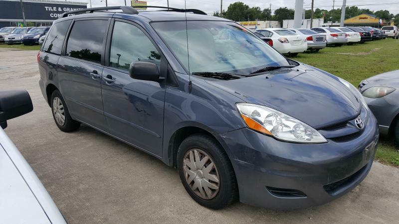 2009 TOYOTA SIENNA CE blue air conditioning power windows power locks power steering tilt whe