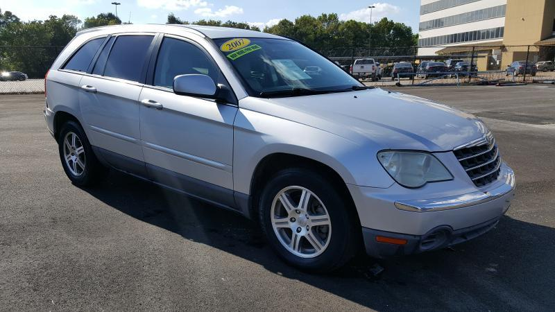 2007 CHRYSLER PACIFICA TOURING 4DR CROSSOVER silver air conditioning power windows power locks