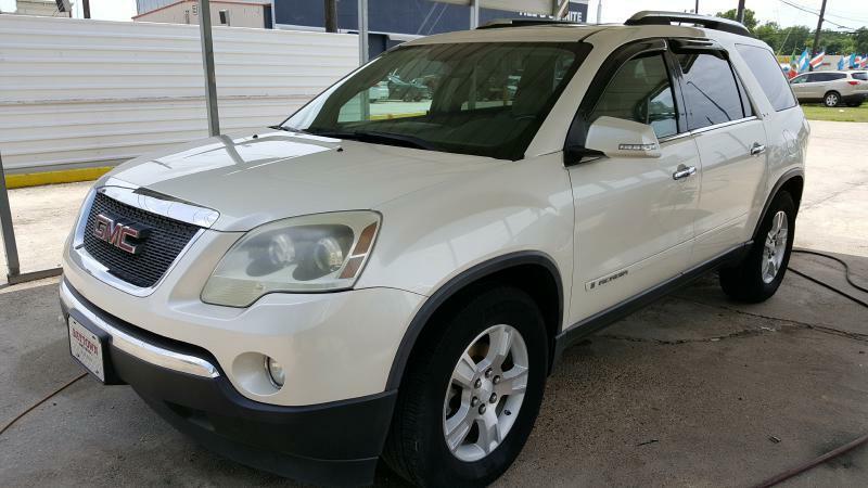 2008 GMC ACADIA SLT-2 4DR SUV white air conditioning power windows power locks power steering
