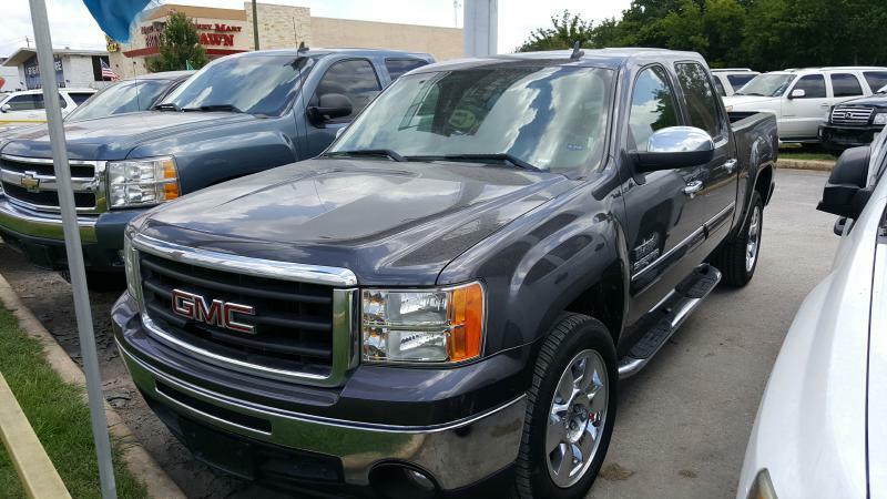 2011 GMC SIERRA 1500 SLE 4X2 4DR CREW CAB 58 FT SB gray air conditioning power windows power
