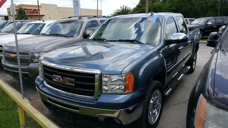 2011 GMC SIERRA 1500 SLE 4X2 4DR CREW CAB 58 FT SB blue air conditioning power windows power
