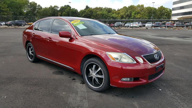 2006 LEXUS GS 300 BASE AWD 4DR SEDAN red air conditioning power windows power locks power stee