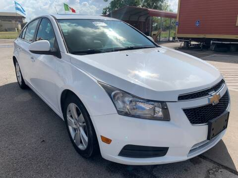 2014 Chevrolet Cruze for sale at JAVY AUTO SALES in Houston TX